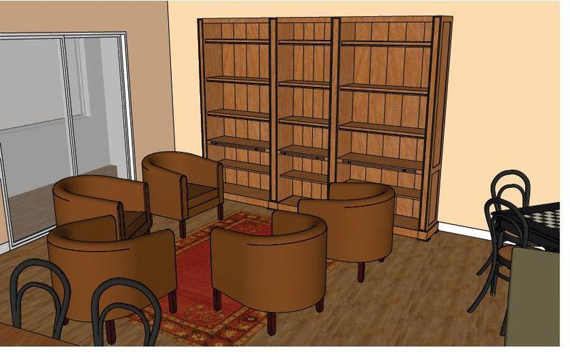 Biblio-fauteuils